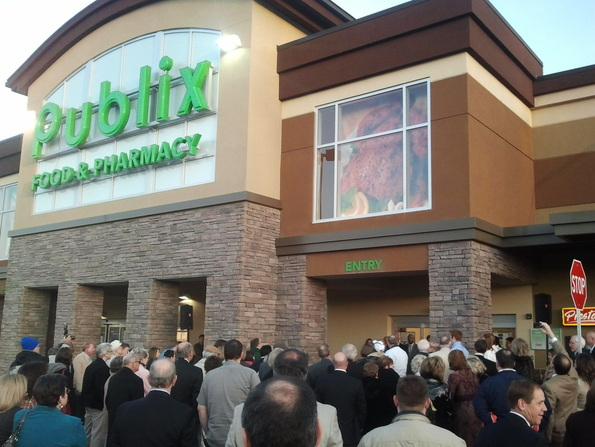 Modern Media Consulting was on site to help welcome the 2nd Auburn Publix to town.